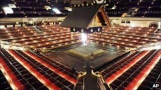 Ryogoku Kokugikan sumo arena in Tokyo