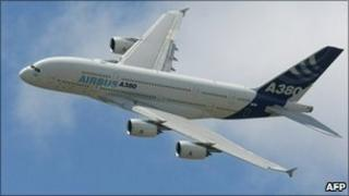 Airbus A380 (file photo)