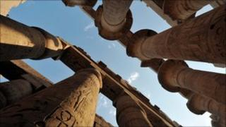 Pillars of the Temple of Karnak