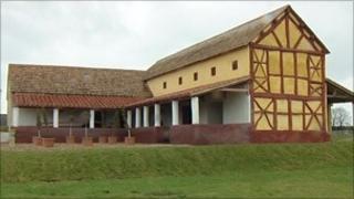 Villa at Wroxeter