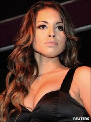 Karima El-Mahroug, the young woman whom Italian prosecutors allege PM Silvio Berlusconi paid for sex