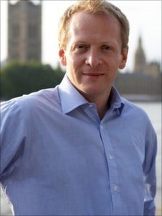 Dr Phillip Lee outside Westminster