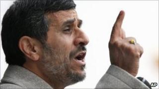 Mahmoud Ahmadinejad (11 February 2011)