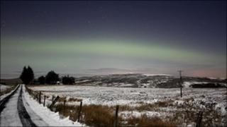 Picture of Aurora Borealis taken by Martin McKenna.