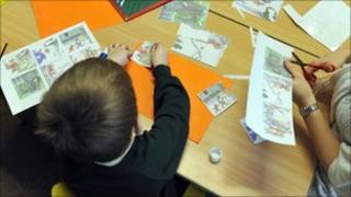 Primary school pupil (generic)