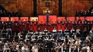 BBC Symphony Orchestra with the BBC Symphony Chorus