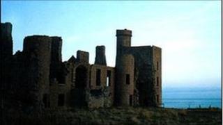 Slain's castle, Aberdeenshire