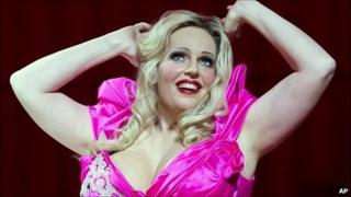 Dutch Soprano Eva Maria Westbroek as Anna Nicole