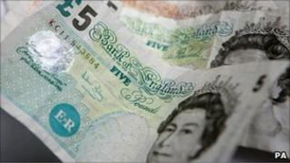 Pound notes generic