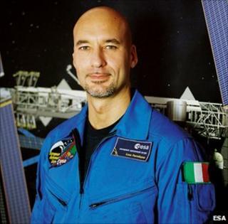 Luca Parmitano (Esa)
