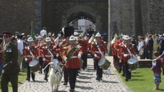 Soldiers from 2nd Btn, The Royal Welsh