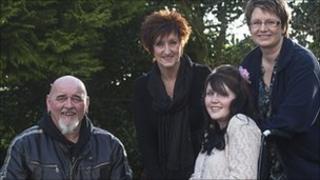 Ron Adams, Julie Longmuir, Kirsten Edwards, and Audra West