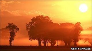 Dawn in Cheshire