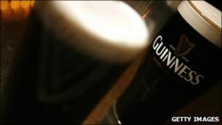 Guinness pints