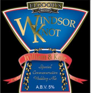 Label for Windsor Knot beer