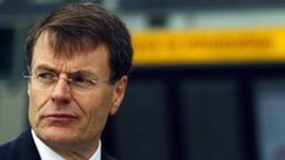 BAA chief executive Colin Matthews at Heathrow Airport