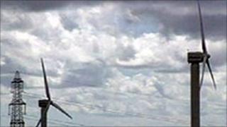 Delabole turbines