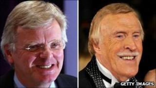Lord Grade and Bruce Forsyth