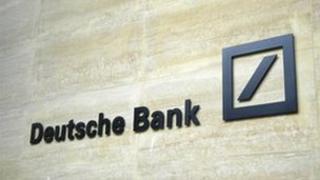 Deutsche bank building in London