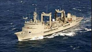 HMAS Success (image courtesy Australian Defence Department)