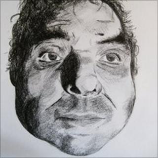Artist impression of the man