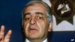 Zviad Gamsakhurdia - file pic