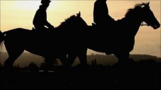 horse riders generic