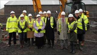 Site of new centre. Pic; Pulteneytown People's Project