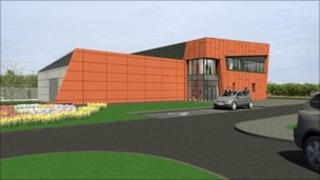 artist impression of new centre
