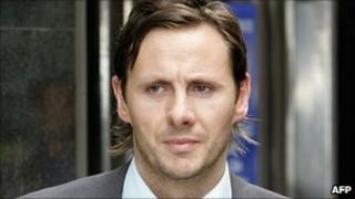 Glenn Mulcaire leaving the City of Westminster Magistrates' Court, in central London, in 2006