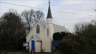 Bedmond's 'Tin Church'