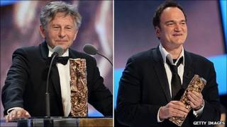Roman Polanski and Quentin Tarantino