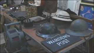 World War II paraphernalia