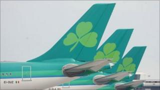 Aer Lingus tail fins