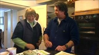 Glynis and Ian Kirkland
