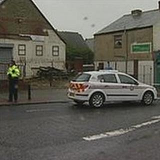 Scene of the incident