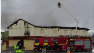 Fire at Donegal amusement arcade