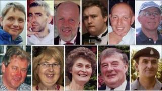 Top row from left, Jane Robinson, Darren Rewcastle, David Bird, Jamie Clark, Garry Purdham and Michael Pike. Bottom row from left, Isaac Dixon, Susan Hughes, Jennifer Jackson, James Jackson and Kenneth Fishburn.