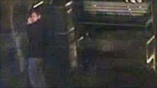 CCTV image of the man police want to identify