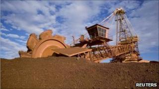 Australian mine in Port Hedland