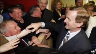 Fine Gael leader, Enda Kenny