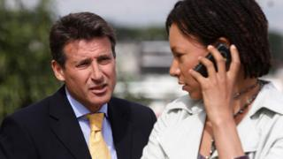 Lord Coe and Nina Sosanya