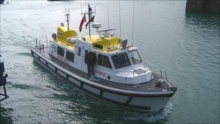Guernsey's marine ambulance Flying Christine III