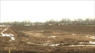 New slurry pit