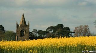 A rural church