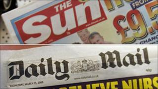 The Sun and The Daily Mail