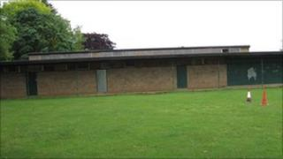 Dallington changing rooms