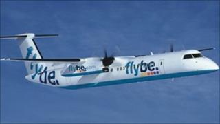Flybe Bombardier Q 400