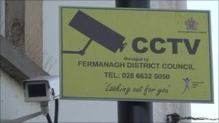 Enniskillen CCTV camera