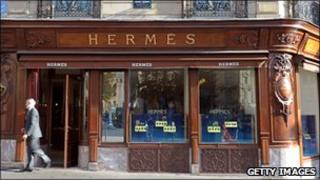Hermes shopfront